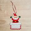Décoration de noël Père Noël Personnalisable