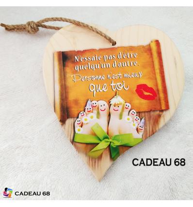 Coeur Bois Toi Cadeau 68