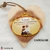 Coeur Bois Exceptionnel Cadeau 68