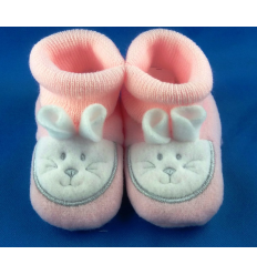 Chaussons Lapin Rose Cadeau68