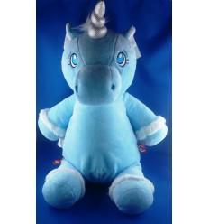 Peluche Licorne Bleue personnalisée Cadeau68