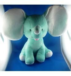 Peluche Elephant Vert personnalisée Cadeau68