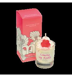 Bougie crème fouettée Coming Up Roses Cadeau68