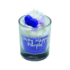 Bougie crème fouettée Shiny Happy Purple Cadeau68