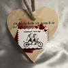 Petit coeur en bois Belle Vie Cadeau68