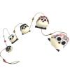 Chouettes Guirlandes famille de 5 personnalisées Cadeau68