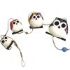 Chouettes Guirlandes famille de 4 personnalisées Cadeau68