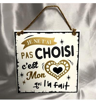 Plaque décorative Amour Cadeau68