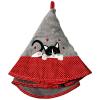 Torchon Rond Eponse Gris Chat Personnalisé Cadeau68