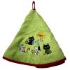 Torchon Rond Eponge Vert Chats personnalisé Cadeau68
