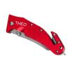 Couteau rouge Mil-Tec personnalisé