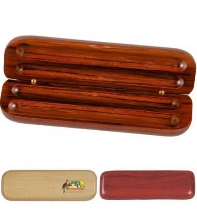 Boite en bois pour 2 stylos bois