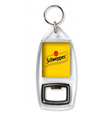 Porte clés personnalisé décapsuleur