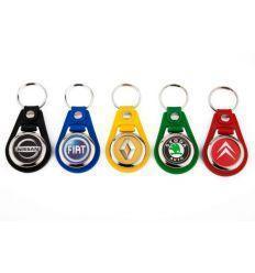 Porte clés personnalisé cuir avec jeton