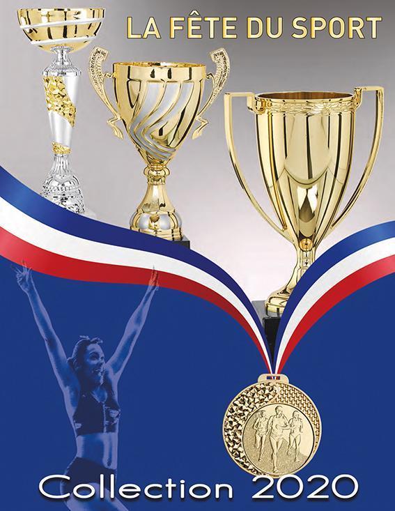 Catalogue Trophées Coupes médailles
